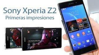 Sony Xperia Z2 Características Y Primeras Impresiones