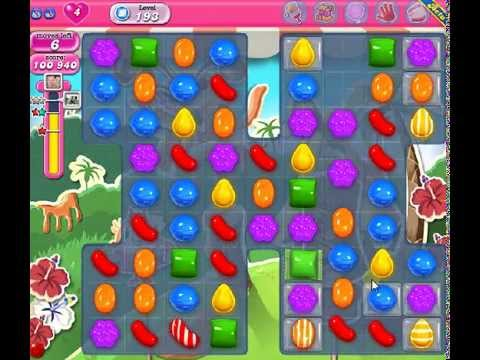 How to beat Candy Crush Saga Level 193 - 3 Stars - No Boosters - 121
