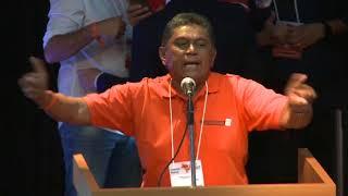 Geraldino Santos discursa na Convenção Nacional do Solidariedade