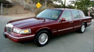 1997 Lincoln Town Car * 1 Owner*  83K Orig Miles Car Guy A+ Used Last Year Box Panther videos