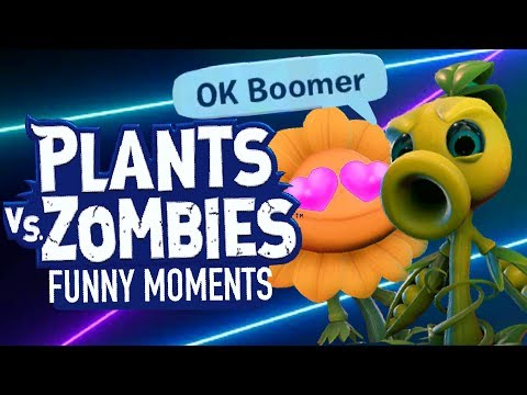 Random kids role playing in Plants vs. Zombies Battle for Neighborville (Funny Moments)