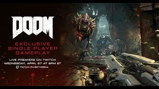 DOOM - Single-player Preview
