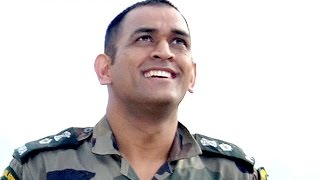 MS Dhoni twice successful in parajumping