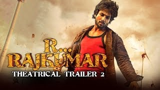 RRajkumar Official Theatrical Trailer 2 Shahid