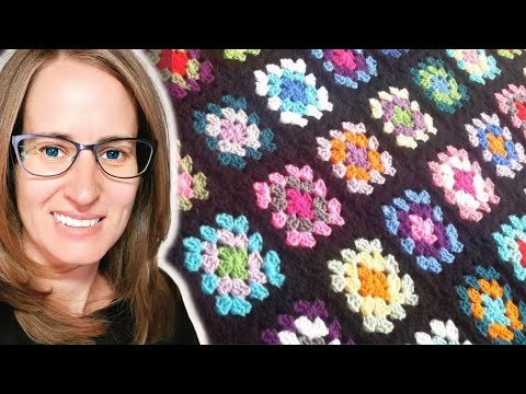 Crocheting Granny Squares On Youtube : Crochet Granny Square Tutorial - YouTube