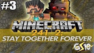 Minecraft Stay Forever Together 2 w/ Graser & Thinknoodles Part 3 - Skin Parkour!