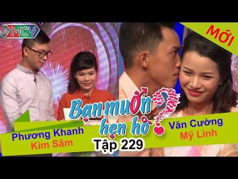 Phương Khanh - Kim Sâm | Văn Cường - Mỹ Linh | BẠN MUỐN HẸN HÒ | Tập 229 | 19/12/2016