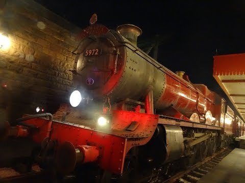 Harry Potter Hogwarts Express Train POV Universal Orlando Resort