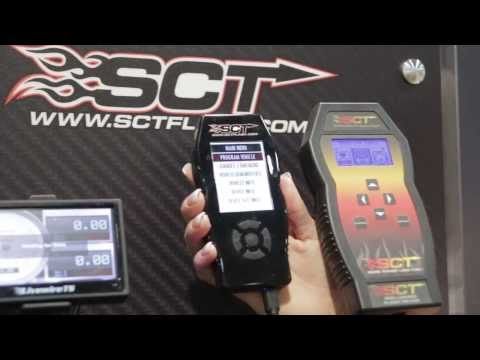 SEMA Show 2013 - SCT X4 Power Flash Tuner Just Released