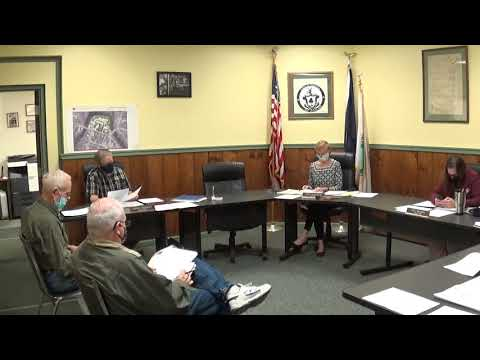 Champlain Village Board Meeting 11-9-20
