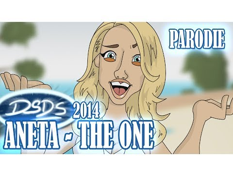 Aneta - The One [DSDS 2014] (PARODIE ANIMATION)