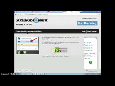 how to download screencast-o-matic