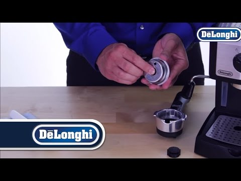 how to clean a delonghi espresso machine