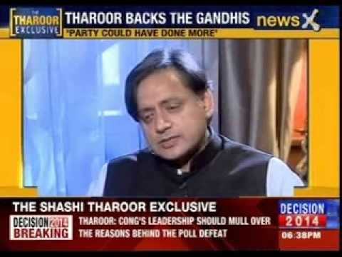 NewsX Exclusive: Congress leader Shashi Tharoor gets candid with Rahul Shivshankar