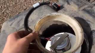 1997-01 Jeep Cherokee Xj FUEL PUMP Replacement, Step By