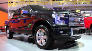 Shaping The 2015 Ford F-150 From Aluminum Design And