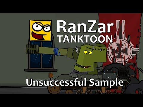 Tanktoon - Neúspešná vzorka