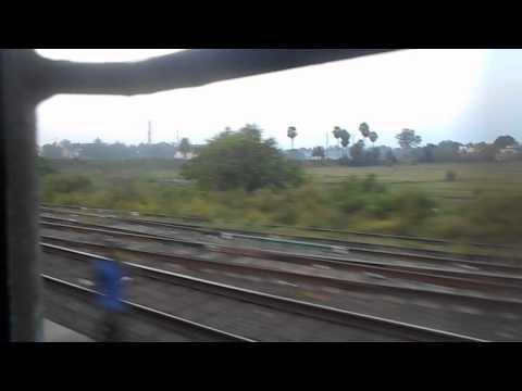 SRC WAP 4 ON DANGEROUS RAMPAGE::GHATSILA TORN AWAY AT 110 KMPH BY GEETANJALI.