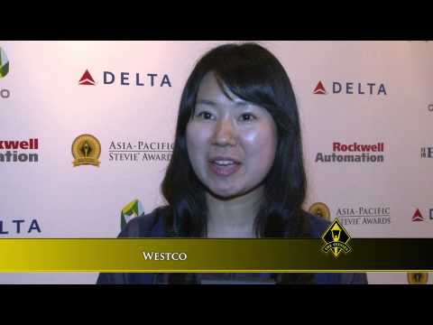 Westco wins at the 2014 Asia-Pacific Stevie Awards