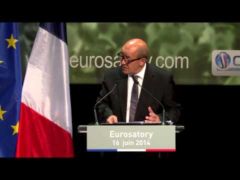 Eurosatory 2014 : Speech of French Minister of Defence Jean Yves Le Drian