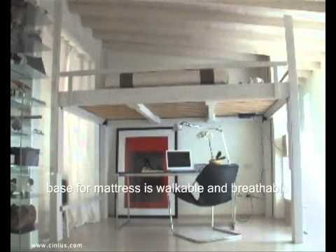 Loft bed living room design ideas youtube - Loft bed for small apartment ...