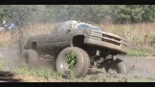 Huge Chevy Silverado 4x4 Mud Truck With Big Block And 54
