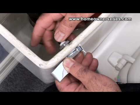 how to fix a loose toilet flush handle