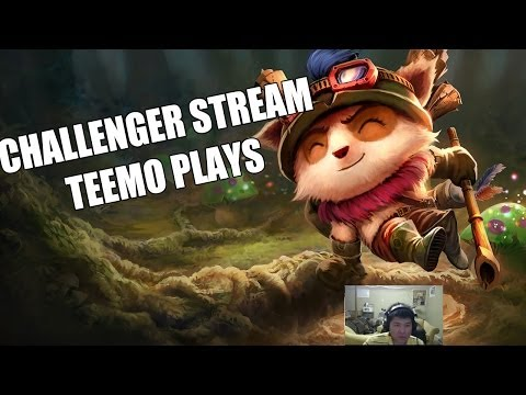 ✔ STREAM HIGHLIGHTS - TEEMO PLAYS  - Ep. 3 | League of Legends | Challenger | Season 4
