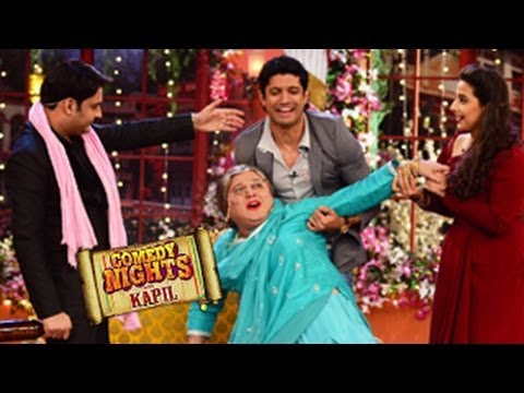 Farhan Akhtar & Vidya Balan on Comedy Nights with Kapil 15th February 2014 episode