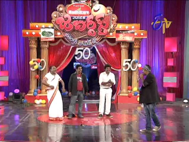 Jabardasth   Shakalaka Shankar Performance on 23rd January 2014