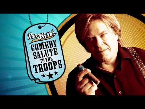 Ron White Comedy Salute for the Troops Out Now!