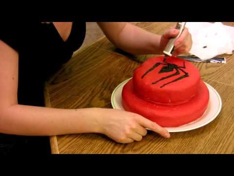 spiderman cake timelapse baking and reveal youtube. Black Bedroom Furniture Sets. Home Design Ideas