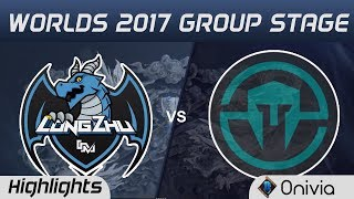 LZ vs IMT Highlights World Championship 2017 Group Stage Longzhu vs Immortals by Onivia