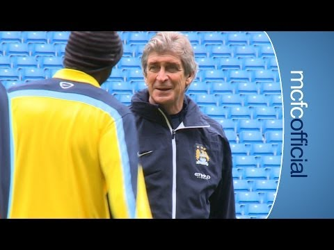 INSIDE CITY 115 Yaya talks free kicks & Nasri scores in training