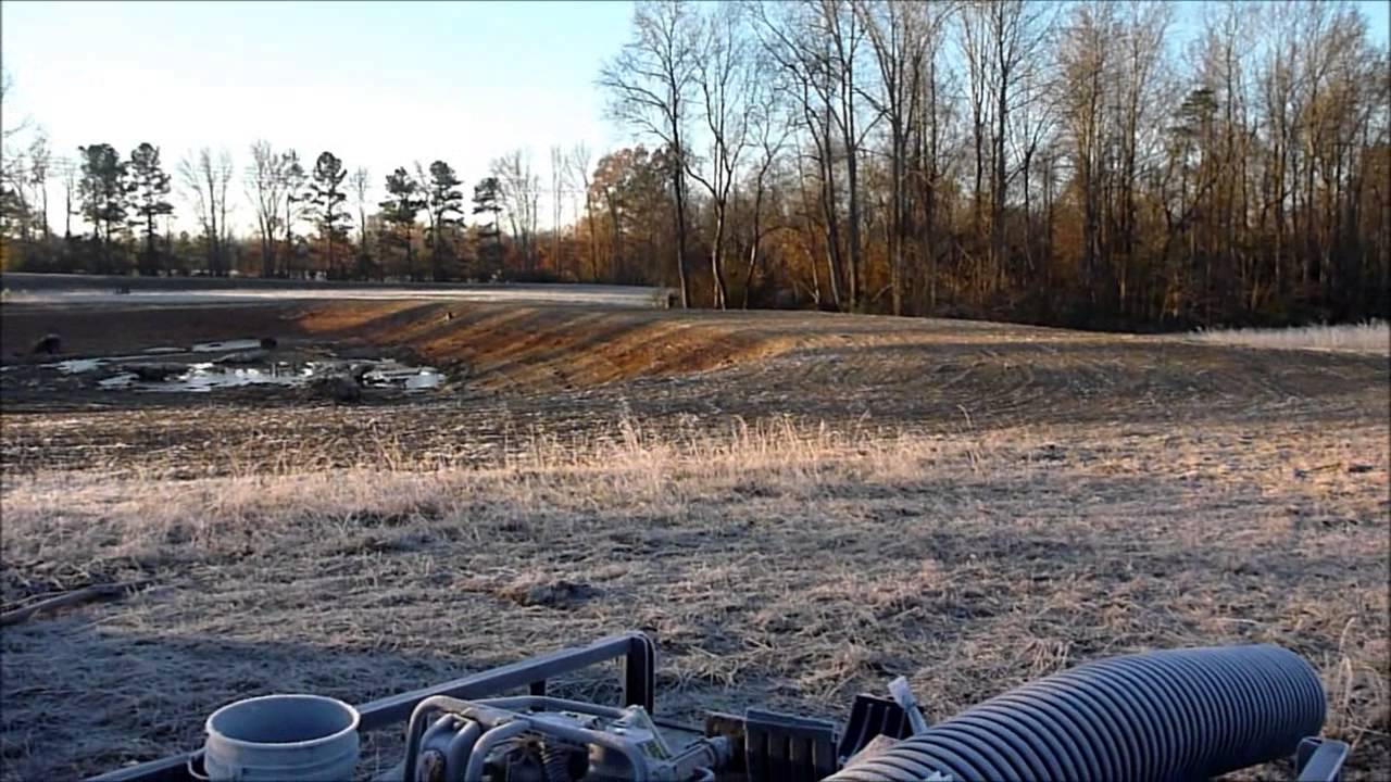 Building a 2 acre pond part 3 completed youtube for Building a 1 acre pond