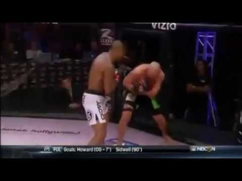 USA 8 count joke! LOL Tyrone's amazing MMA debut k.o.,