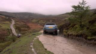 2014 Range Rover Evoque 9-speed auto tackles North Wales mountain
