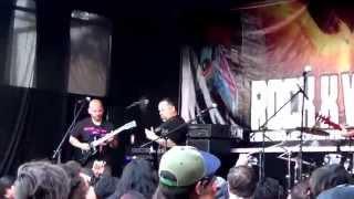 DORSO - ROCK  X VALPO (ARENA RECOLETA) 27/04/14