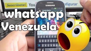 Como Agregar Contactos A Whatsapp De Venezuela En Samsung