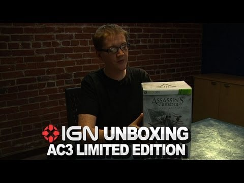 Assassin's Creed 3: Limited Edition Unboxing