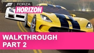 Forza Horizon Gameplay Walkthrough Part 2