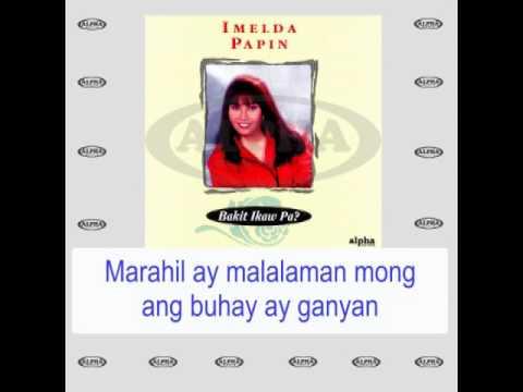 Kung Ikaw Lang Ako By Imelda Papin (With Lyrics)
