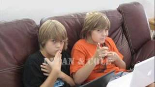 Dylan And Cole Sprouse Singing 18 Songs :)