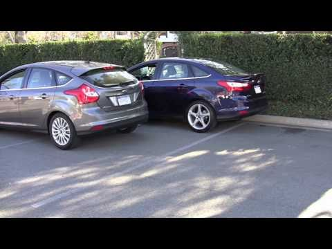 Tech Demo: Ford's all new 2012 Focus makes parking a breeze