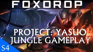 PROJECT YASUO Jungle Full Gameplay League Of Legends