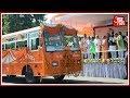 Yogi Adityanath Govt Flags Off Saffron Coloured Police Stations Buses
