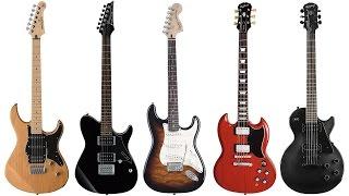 Comparativa de 5 guitarras eléctricas económicas