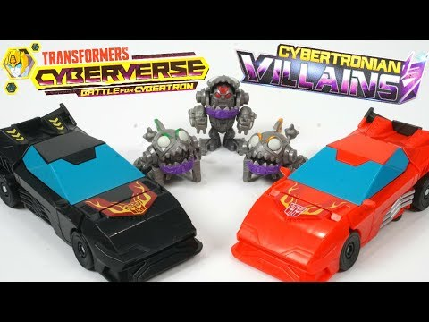 Transformers Cyberverse New Cybertron Sharkticons and Stealth Hot Rod One Step Changers!