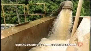Sem �gua em Visconde de Rio Branco - Alterosa em Alerta 30/01