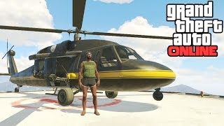 GTA Online: Annihilator Location! How To Get The